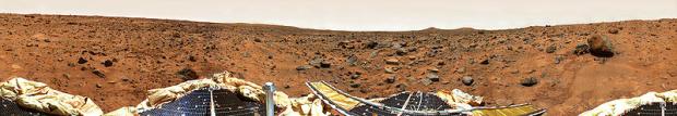 マーズ・パスファインダーが撮影した火星地表の写真
