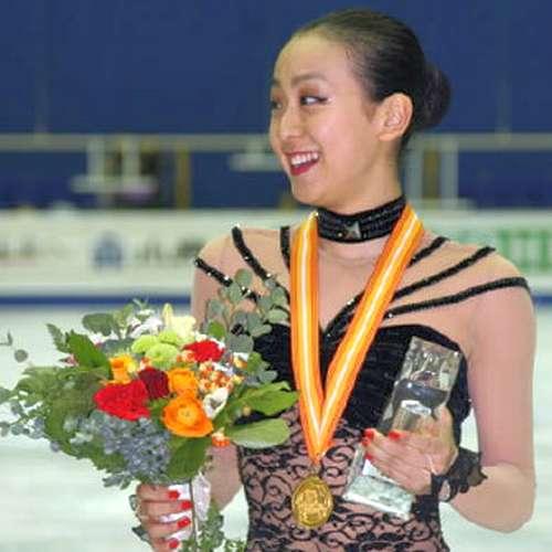 2008年グランプリファイナルで優勝した浅田真央選手