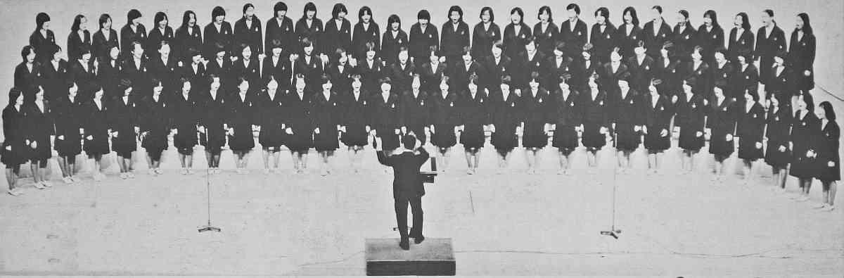 福島西女子高校合唱団第27回全国大会