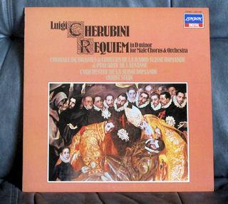 ケルビーニ/男声合唱と管弦楽のためのレクイエム