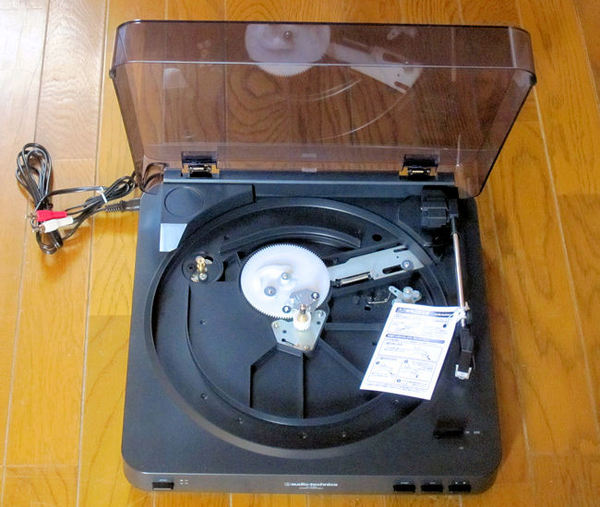 レコードプレーヤーAT-PL300(本体)