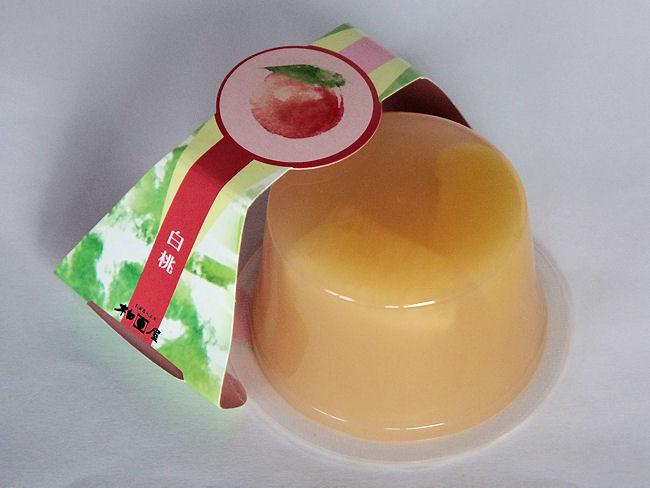 果肉入りゼリー「高原画集」白桃